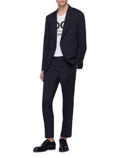 Dolce & Gabbana 'Napoli' peak lapel herringbone suit