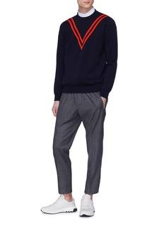 Stella McCartney Stripe virgin wool sweater