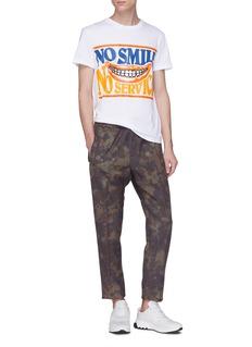 Stella McCartney Slogan print organic cotton T-shirt