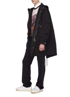 Stella McCartney 'Louis' slant pocket oversized hooded parka