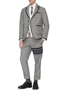 Thom Browne Houndstooth down puffer soft blazer