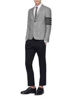 Thom Browne Elastic stripe shoulder Oxford shirt