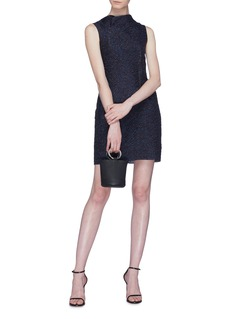 Roland Mouret 'Zonda' raindrop Lurex jacquard sleeveless dress