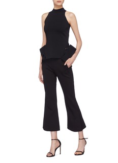 Roland Mouret 'Barmston' cutout peak panel top