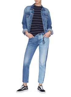Tortoise Denim 'Savanna' colourblock jeans