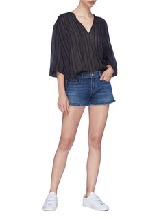 Frame Denim 'Le Cut Off' frayed denim shorts