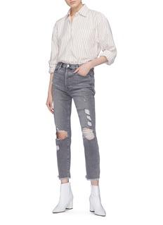 Frame Denim 'Le Original' frayed cuff ripped jeans