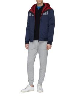 Fendi Sport 'Bag Bugs' panel reversible colourblock jacket