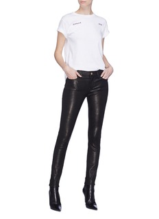 Frame Denim 'Le Skinny de Jeanne' leather pants