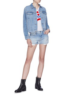 Frame Denim 'Le Studded' denim shorts