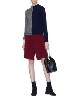 Sonia Rykiel Wool-cashmere knit Bermuda shorts