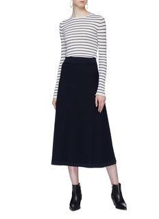 Sonia Rykiel Stripe knit skirt