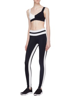 Vaara 'Flo' stripe seam performance leggings