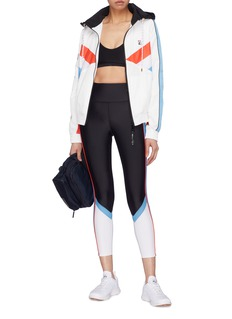 P.E Nation 'Backboard' stripe outseam colourblock performance leggings
