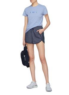 LNDR 'Jog' stripe outseam running shorts