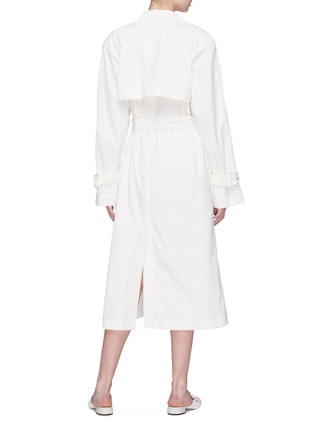 Back View - Click To Enlarge - THE ROW - 'Nueta' belted trench coat