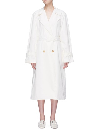 Main View - Click To Enlarge - THE ROW - 'Nueta' belted trench coat