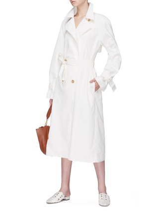 Figure View - Click To Enlarge - THE ROW - 'Nueta' belted trench coat
