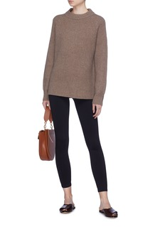 The Row 'Connor' cashmere rib knit sweater