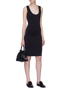 The Row 'Borelle' scuba jersey dress