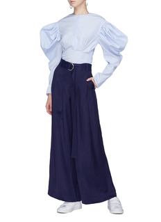 Maggie Marilyn 'Go Your Own Way' belted wide leg pants