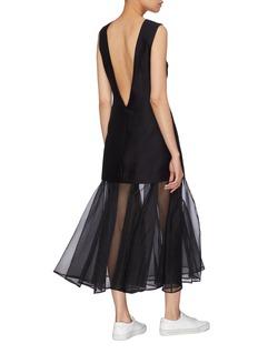 Maggie Marilyn 'Find Strength in Your Identity' ruffle hem dress