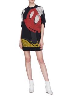 Marc Jacobs x Disney Mickey Mouse print sweatshirt dress