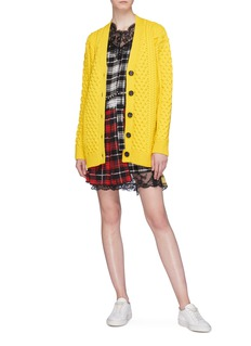 Marc Jacobs Merino wool cable knit cardigan