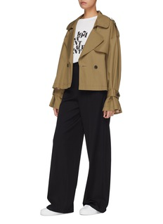 PORTSPURE Double breasted trench jacket