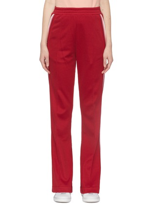 Main View - Click To Enlarge - MONCLER - Stripe outseam track pants