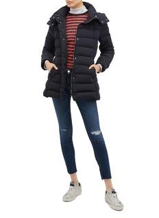 Moncler 'Harelde' detachable hood down puffer jacket
