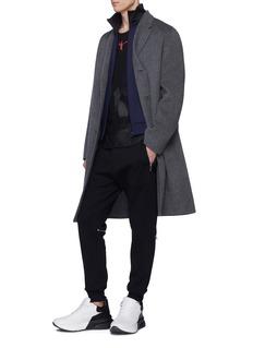 Alexander McQueen Paisley jacquard zip gusset jogging pants