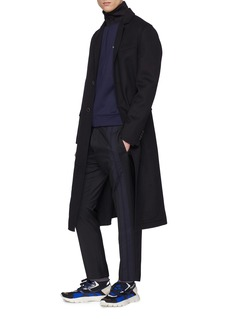 Valentino Stripe sleeve colourblock track jacket