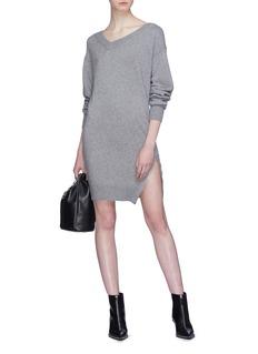 Alexander Wang  Zip outseam twist dress