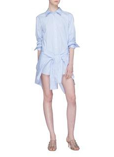 Alexander Wang  Sleeve tie panel shirt dress