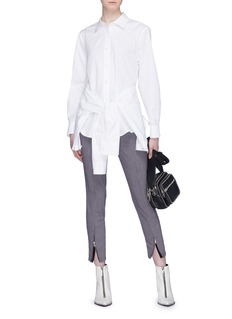 Alexander Wang  Sleeve tie panel shirt