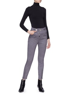 Alexander Wang  Detachable turtleneck long sleeve top