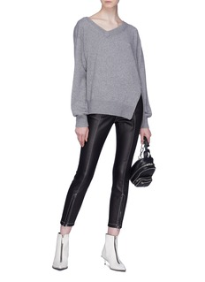Alexander Wang  Zip outseam sweater