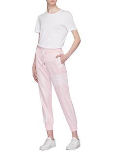 Thom Browne Stripe ripstop sweatpants