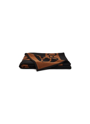 Main View - Click To Enlarge - FRETTE - Chains throw –Black/Bronze