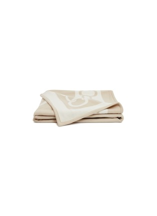 Main View - Click To Enlarge - FRETTE - Chains throw –Beige/Milk