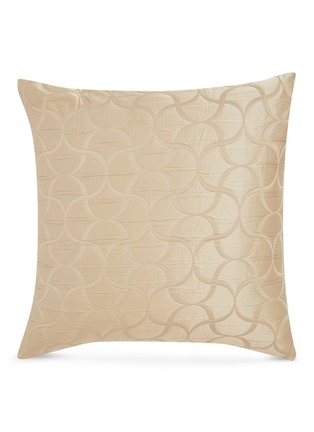 Main View - Click To Enlarge - FRETTE - Tile cushion cover –Savage Beige