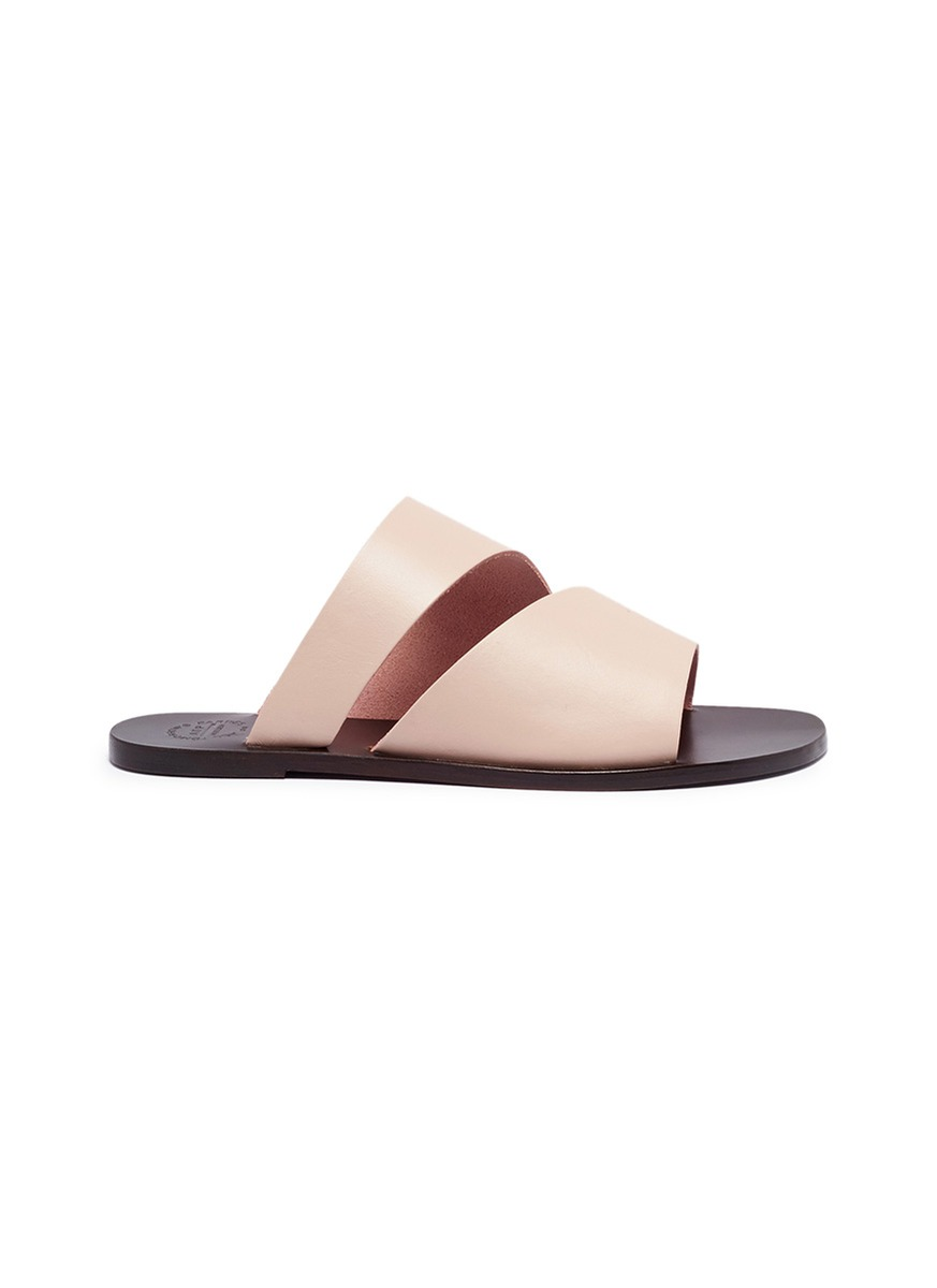 Lis leather slide sandals by ATP Atelier
