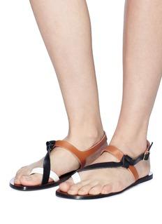 ATP Atelier 'Arona' colourblock leather sandals