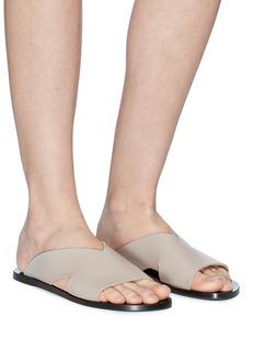 ATP Atelier 'Belvi' leather slide sandals