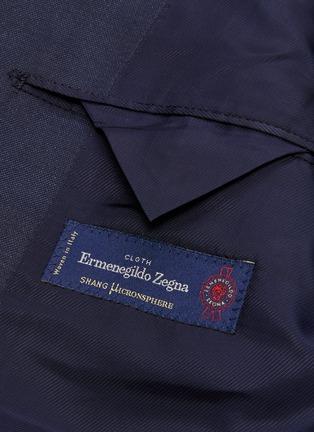 - Tomorrowland - Ermenegildo Zegna wool-silk Shang Micronsphere® suit