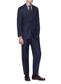 Tomorrowland Ermenegildo Zegna wool-silk Shang Micronsphere® suit
