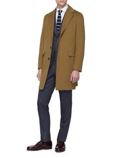 Tomorrowland Loro Piana Storm System® wool melton coat