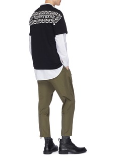 OAMC Zip cuff twill pants