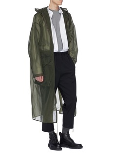 OAMC Sheer hooded parka